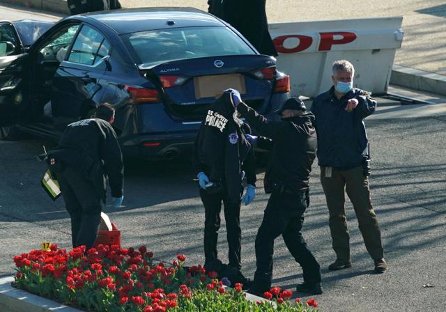 Pelaku Penyerangan Gedung Capitol AS Diduga Pengikut Nation of Islam (435204)