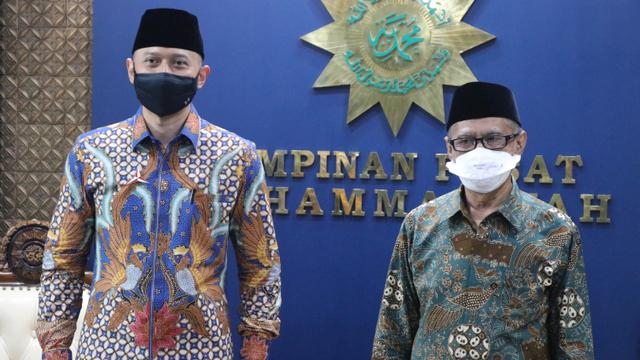 AHY Temui Ketum PP Muhammadiyah, Bahas 4 Persoalan Kebangsaan (181656)