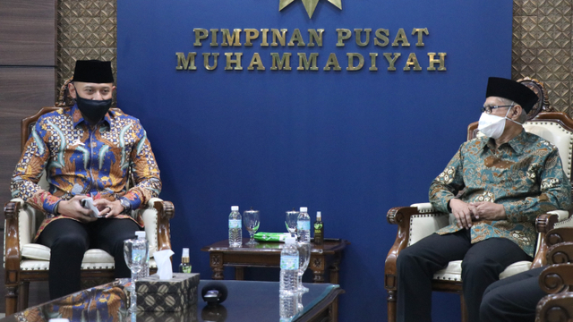 Terima Kunjungan Silaturahmi AHY, Ketum PP Muhammadiyah Pesan Empat Hal Ini (85230)