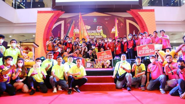 Kepri Barongsai Festival Ditutup, Tim Asal Tanjungpinang Sabet Juara Pertama (250132)