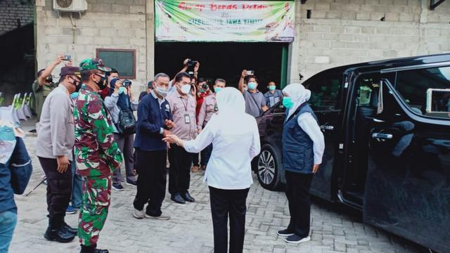 Gubernur Jatim, Lakukan Kunjungan di Bojonegoro (497525)