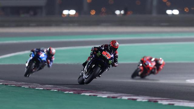 Hasil MotoGP Doha: Fabio Quartararo Menang, Valentino Rossi Suram (103995)