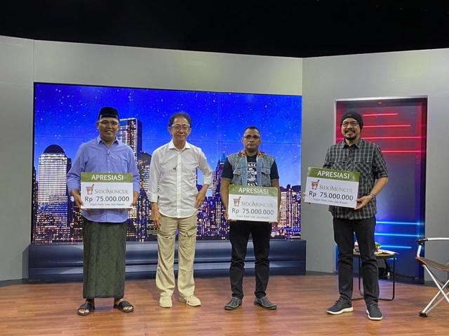 Hadir di Kick Andy Show, Sido Muncul Berikan Ratusan Juta Rupiah ke Local Hero (357700)