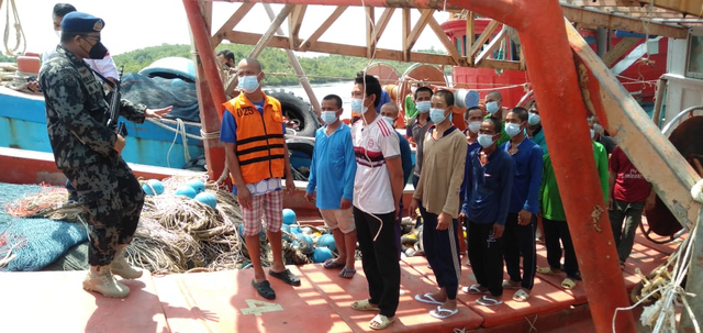 Lagi, 2 Kapal Pencuri Ikan Asal Vietnam Ditangkap di Natuna (383464)