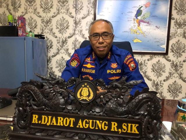Polairud Polda Maluku Utara dan Bea Cukai Ternate Patroli Laut Bersama (132622)