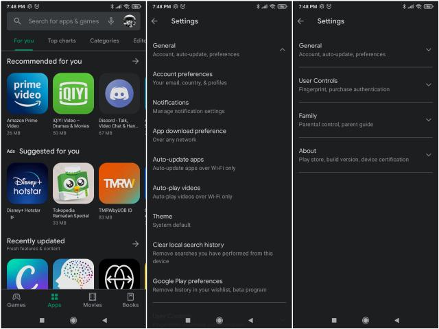 Tampilan Google Play Store Berubah, di Mana Menu Update Aplikasi dan Game? (439709)