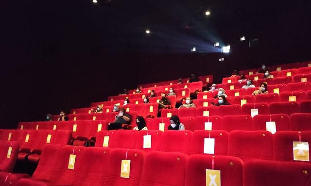 Bioskop di Surabaya Buka Lagi, Epidemiolog: Perhatikan Protokol VDJ (93019)
