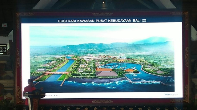 Bupati Klungkung Tak Setuju Pembatalan Mega Proyek Pusat Kebudayaan Bali  (578541)