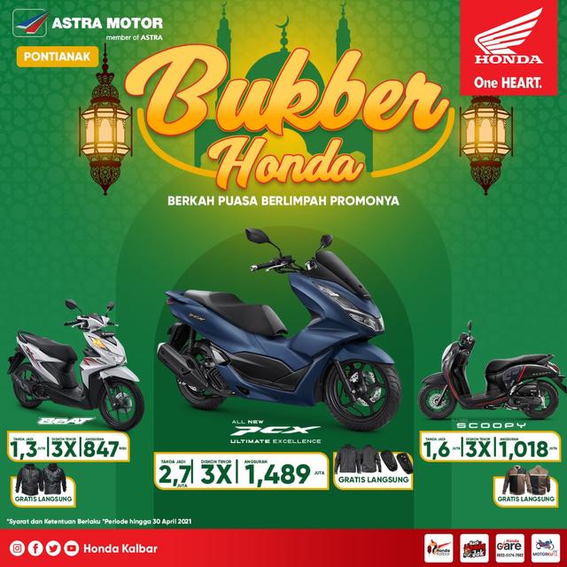 Sambut Ramadhan, Honda Kalbar Berikan Potongan Angsuran (9668)