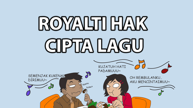 Komik: Royalti Hak Cipta Lagu (14502)