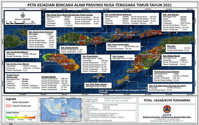 Doni Monardo: Beberapa Desa di NTT Masih Terisolasi, Cuaca Tak Bisa Kita Lawan (231861)
