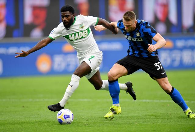Pelatih Sassuolo soal Gol Kontroversial Inter: Kami Harusnya Dapat Penalti! (259523)