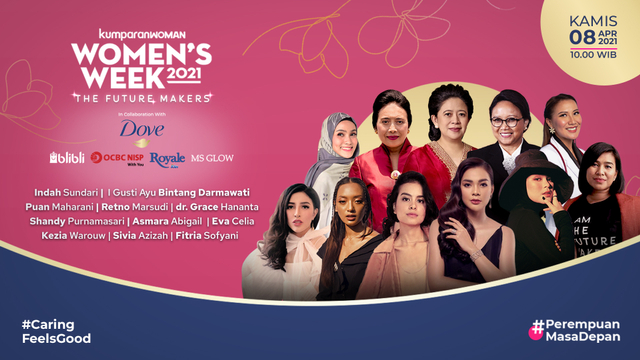 Live Now! Virtual Conference Women's Week 2021 (76004)