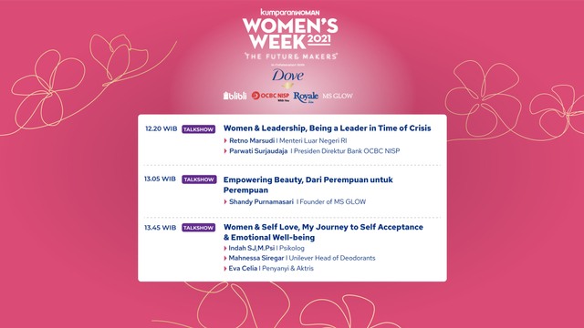 Live Now! Virtual Conference Women's Week 2021 (76006)