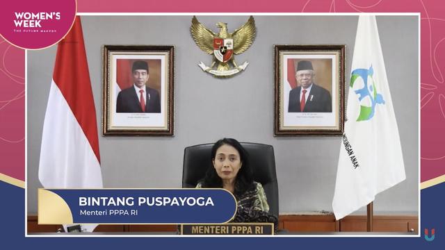 Virtual Conference Women's Week 2021 Dibuka Oleh Ketua DPR RI & Menteri PPPA RI (781855)