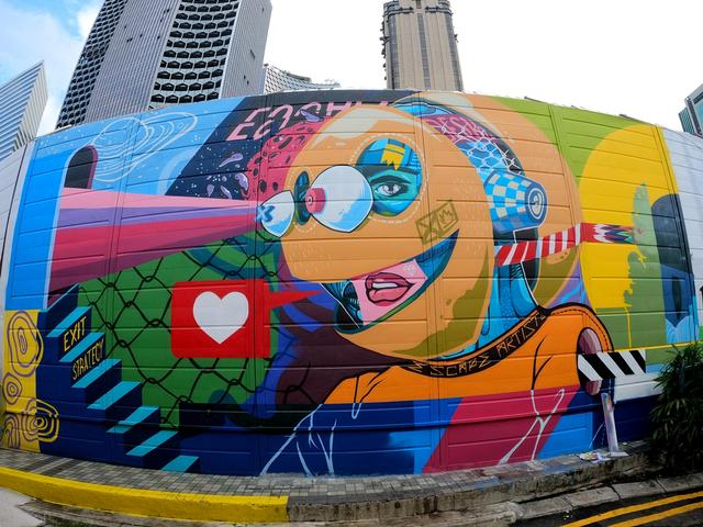 Manjakan Mata Lewat Wisata Visual di 6 Lokasi Mural Keren Singapura (1237146)