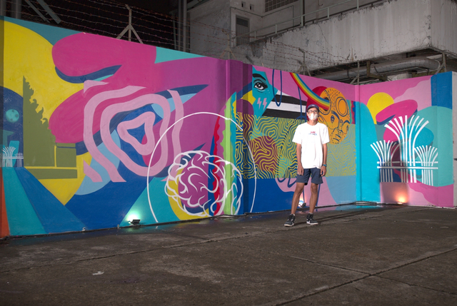 Karya Mural Puzzle Jakarta-Singapura, Bagaimana Menyatukannya? (10891)
