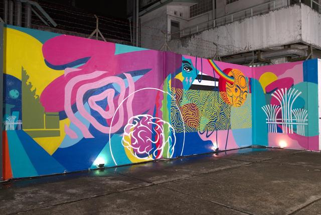 Karya Mural Puzzle Jakarta-Singapura, Bagaimana Menyatukannya? (10894)