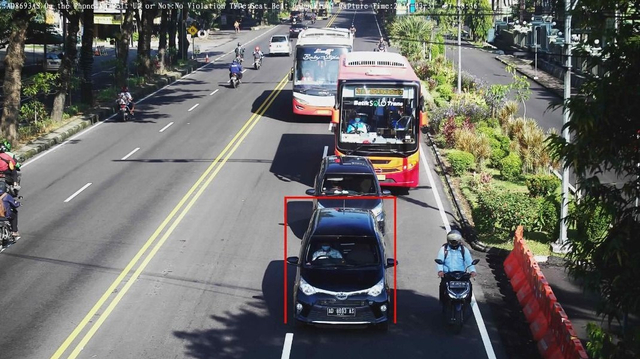 Gara-gara Tak Kenakan Sabuk Pengaman, Mobil Bodong Tertangkap Kamera ETLE (15260)
