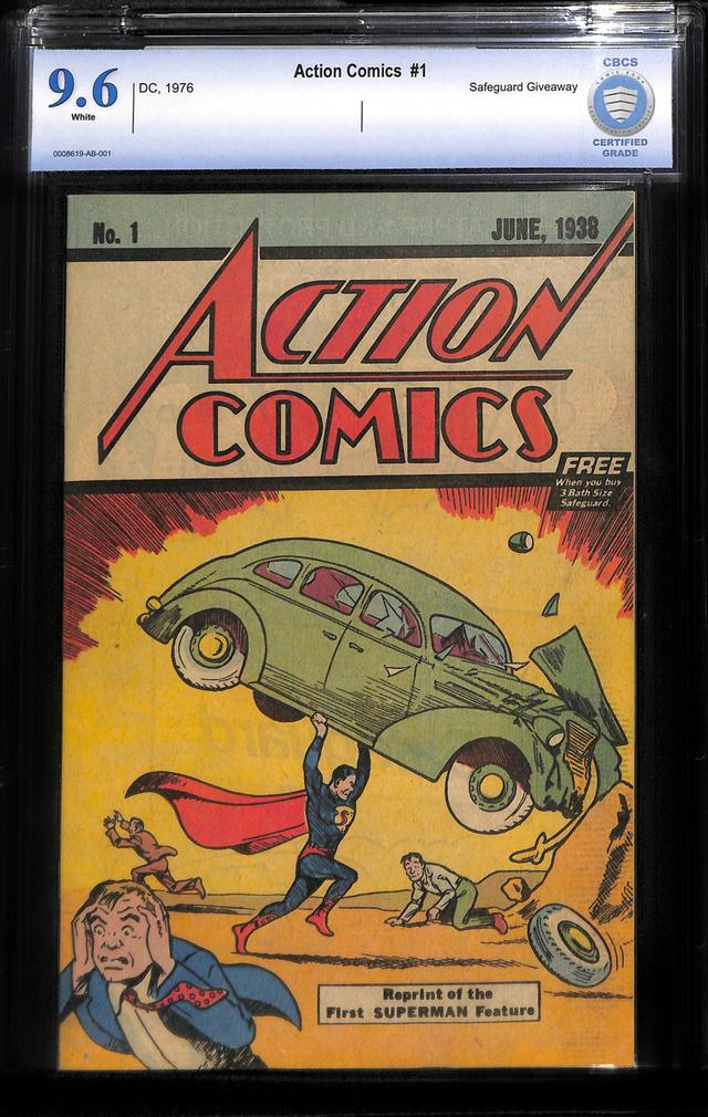 Komik Pertama Superman Cetak Rekor, Laku Rp 47 Miliar dalam Pelelangan (122017)