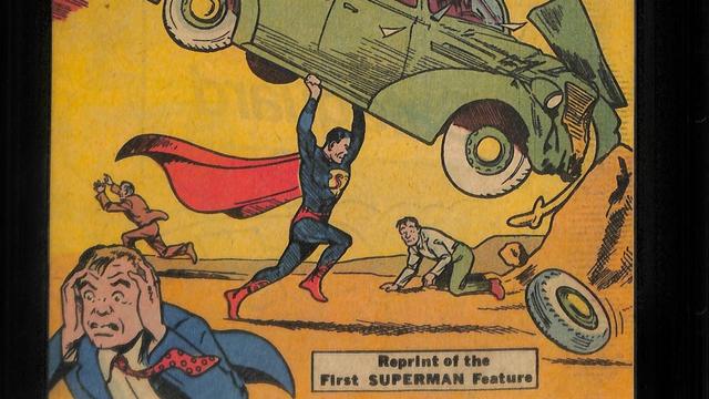 Komik Pertama Superman Cetak Rekor, Laku Rp 47 Miliar dalam Pelelangan (122018)