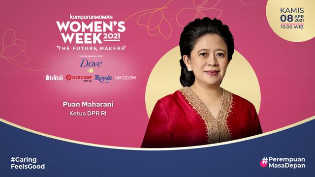 Women's Week 2021: Puan Maharani Yakin Indonesia Akan Maju di Tangan Perempuan (33357)