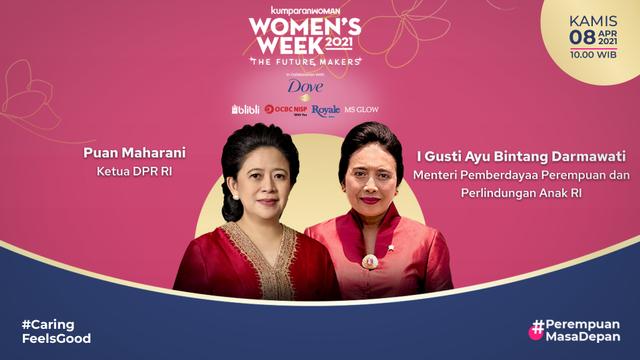 Virtual Conference Women's Week 2021 Dibuka Oleh Ketua DPR RI & Menteri PPPA RI (781853)