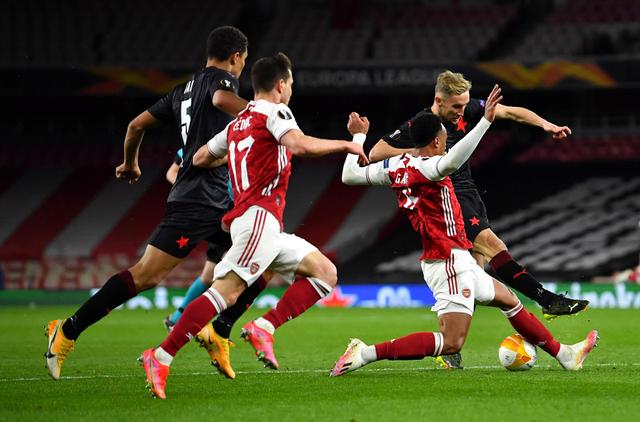 Hasil Lengkap Leg I 8 Besar Liga Europa: MU Menang, Arsenal Gigit Jari (180111)