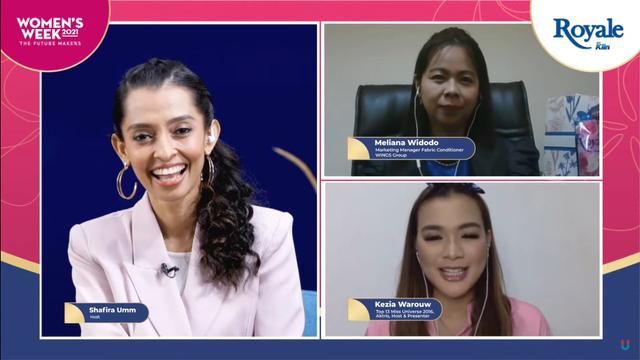 Women's Week 2021: Kezia Warouw & Ceritanya Jalani Multiperan sebagai Perempuan (117211)