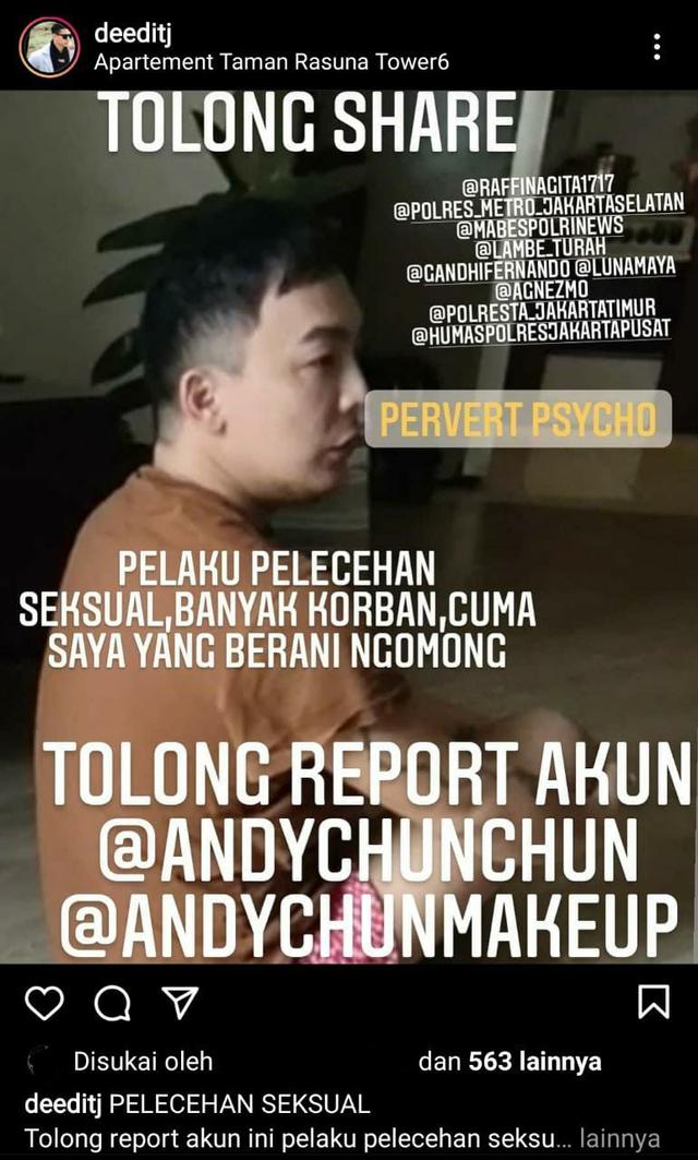 Profil Andy Chun, MUA Ternama yang Diduga Lakukan Pelecehan Seksual (768781)