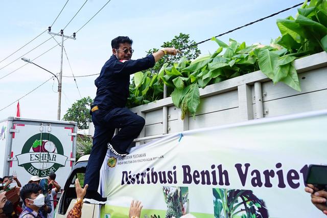 Rumah Ekonomi Rakyat: SYL Nakhoda Tangguh, Selamatkan dari Krisis Pangan (7858)