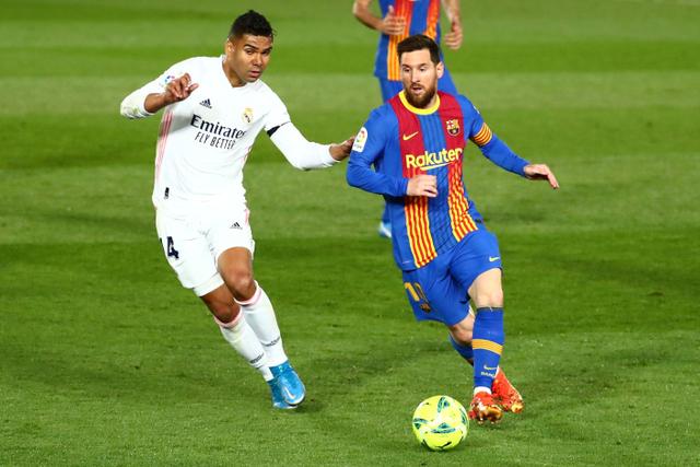 Madrid vs Barcelona: Koeman Misuh-misuh Blaugrana Gagal Dapat Penalti (102223)