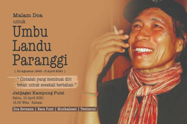 Jenazah Umbu Landu Paranggi Disemayamkan Besok dengan Ritual Adat Sumba (66867)