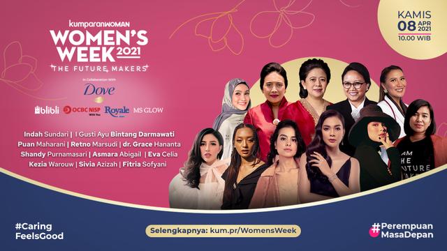 Cerita Fitria Menjadi Project Manager dan Host dalam Women's Week 2021 (162674)