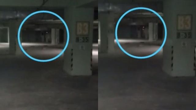 Horor, Satpam Rekam Penampakan Sosok Mirip Kuntilanak dan Pocong di Basement (233849)