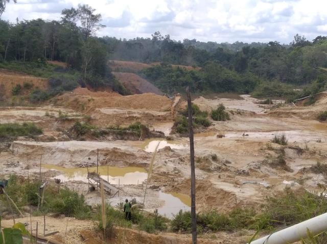 Kades Malawaken, Barito Utara, Benarkan Banyak Tambang Pasir Ilegal di Desanya (485490)