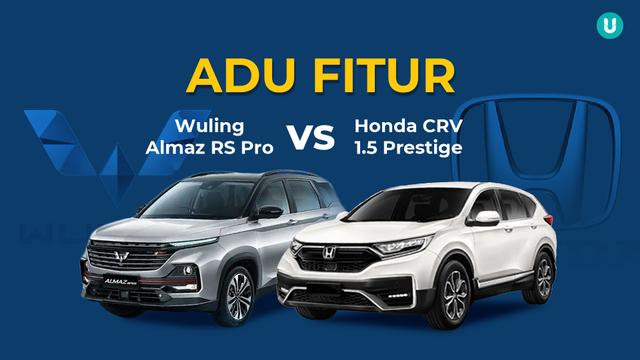 Infografik: Adu Fitur Wuling Almaz RS vs Honda CR-V Facelift, Lengkap Mana? (192257)