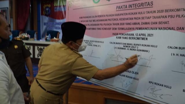 KPU dan Bawaslu Yakin PSU di Rokan Hulu, Riau, Berjalan Lancar dan Sukses  (325956)
