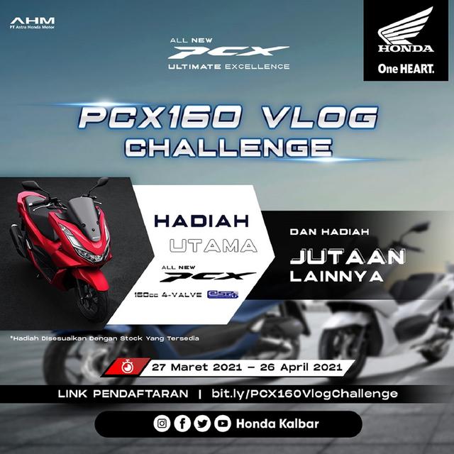 Astra Motor Kalbar Gelar Kompetisi PCX 160 Vlog Challenge (125708)