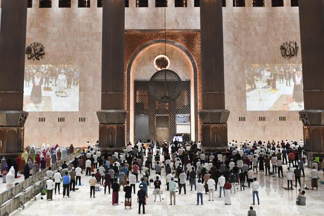 Alasan Masjid Istiqlal Batalkan Gelar Salat Id: Sunah, yang Wajib Jaga Kesehatan (126343)