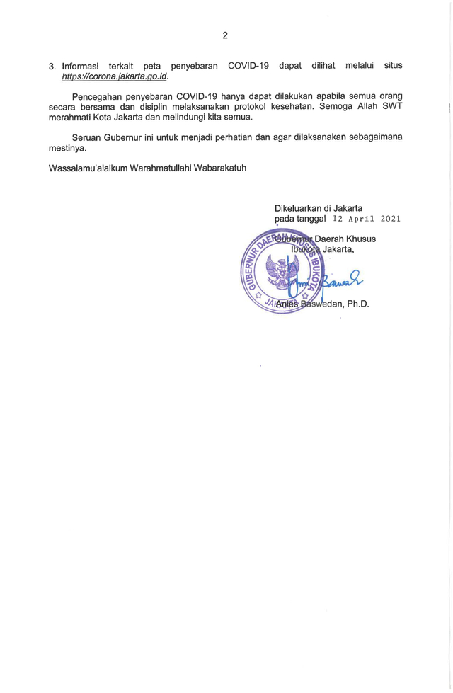 Anies Batasi Durasi Tadarus, Ceramah, Kultum Maksimal 15 Menit di Ramadhan 2021 (4)