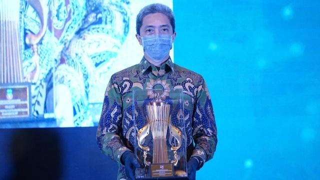 Pemkot Bogor Terima Penghargaan Perencanaan Daerah di Musrenbang Jawa Barat (23657)