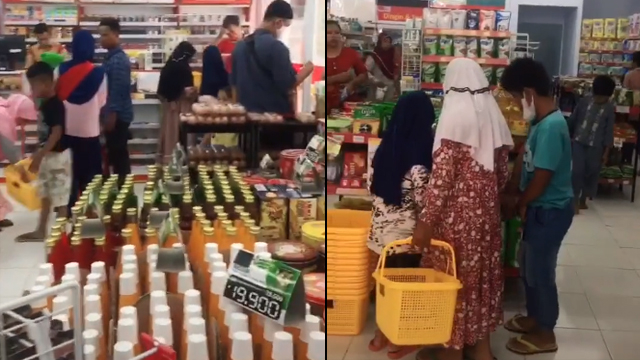 Momen Minimarket Pertama Akhirnya Buka di Desa Terpencil, Ramainya bak Pasar (511714)