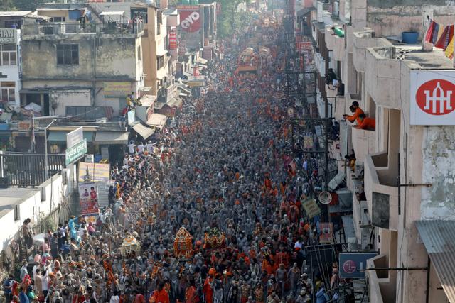 Menilik Kumbh Mela, Festival Keagamaan Hindu yang Picu Tsunami COVID-19 di India (398061)
