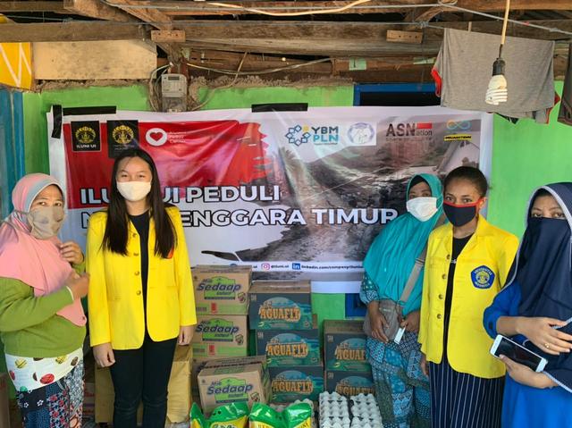 ILUNI UI Kirim Bantuan untuk Korban Bencana NTT (444345)