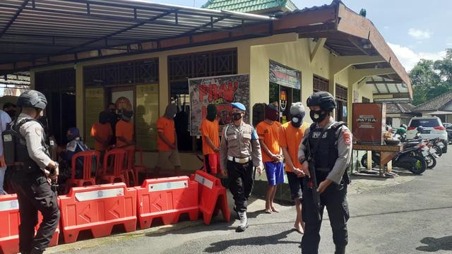 Polres Gunungkidul Ungkap 8 Kasus Penyalahgunaan Narkotika di 2 Bulan Terakhir (513814)