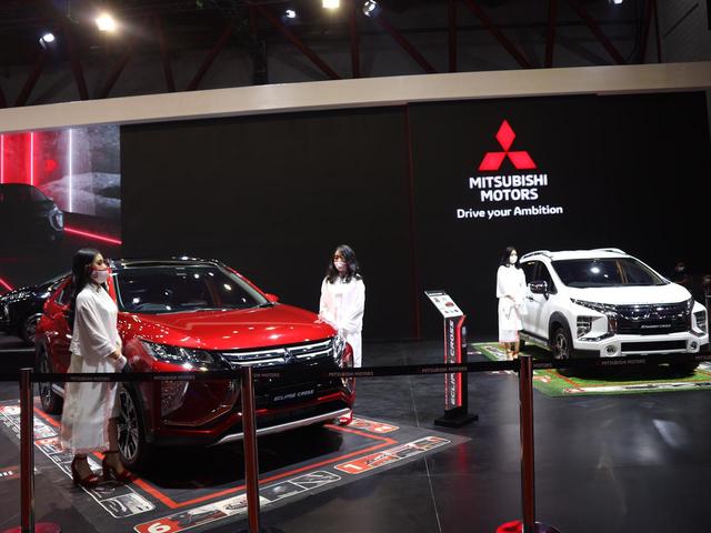 Mitsubishi Xpander Primadona Low MPV di IIMS 2021, Toyota Avanza Keok (7744)