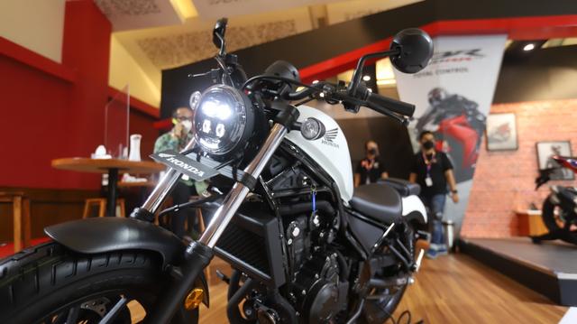 Honda Rebel Berkelir Baru Mejeng di IIMS Hybrid 2021, Tampilannya Jadi Elegan! (95581)