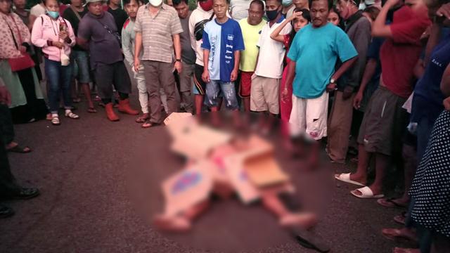 Kecelakaan Maut di Bitung, Pengendara Motor Meninggal Diseret Truk (239577)