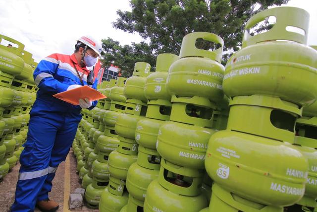Pertamina Tambah Pasokan LPG 3 Kg di Kalbar Selama Ramadhan (65532)